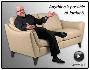 Anything is possible at Jordan's Furniture.