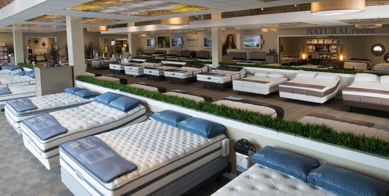 Shop Mattresses And Sleep Surfaces At Jordan 39 S Furniture